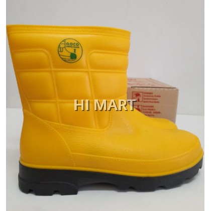 Hi Mart - M985 Boots Safety Rubber Rain Boot Steel Toe Steel Plate Safety Boots