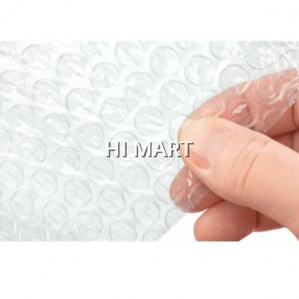 Hi Mart - Bubble Wrap Clear Single Layer 50x100, 100x100 Packing Travel Shipping Rolling Waterproof