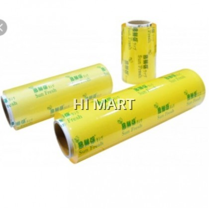 """Hi Mart - 500M 18"""" Film Wrapping Food Wrapping Food Wrap Kitchen Refrigeration Freeze Wrapping Packing  冰箱食品食物家庭保鲜膜"""