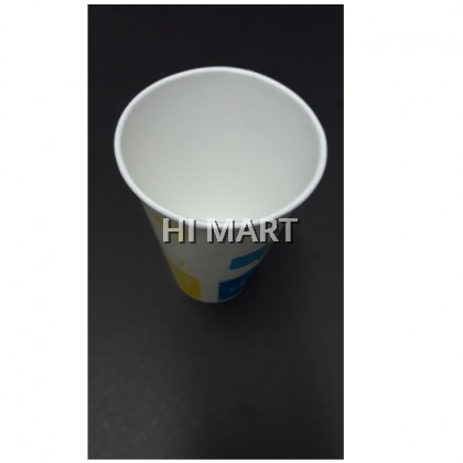 Hi Mart - 8ozs Event Party Disposable Paper Cup Hot and Cold Drink Paper Cup with printing 不能选择颜色款式一次性用具纸杯